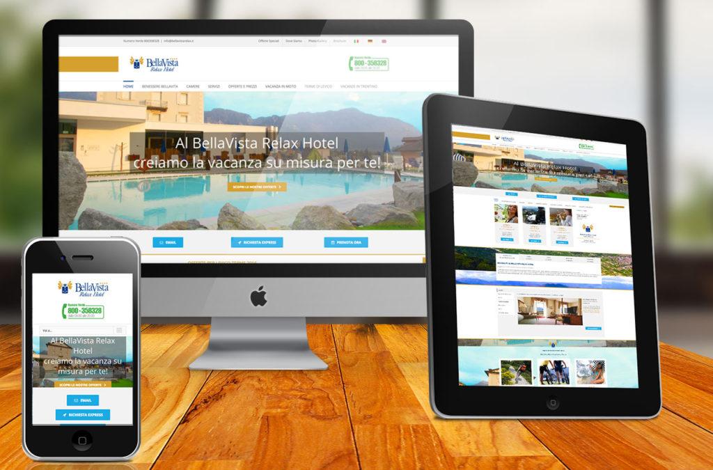 Sito web BellaVista Relax Hotel | D2C srl | Digital Agency Milano | Al tuo cliente, direttamente