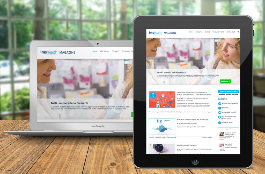 Sito Magazine IMS Health | Digital Agency Milano | D2C srl - Al tuo cliente, direttamente