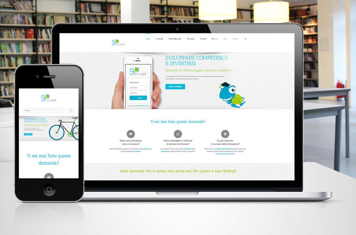 Sito Skilleyd | Design & Sviluppo Web | D2C srl Web Agency Milano | Al tuo cliente, direttamente