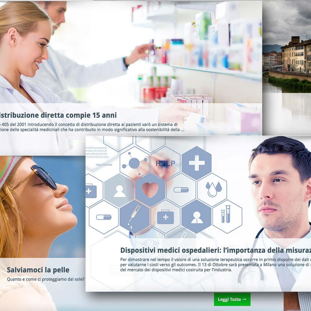 Slider Sito IMS Health Magazine | D2C srl | Digital Agency Milano | Al tuo cliente, direttamente