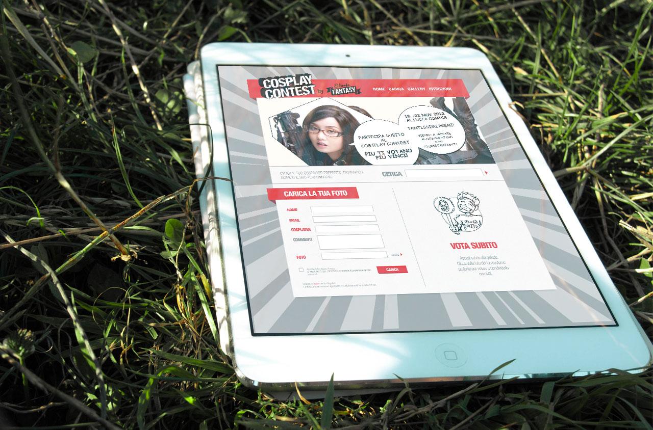 App Cosplay Contest | App | D2C srl Web Agency Milano | Al tuo cliente, direttamente