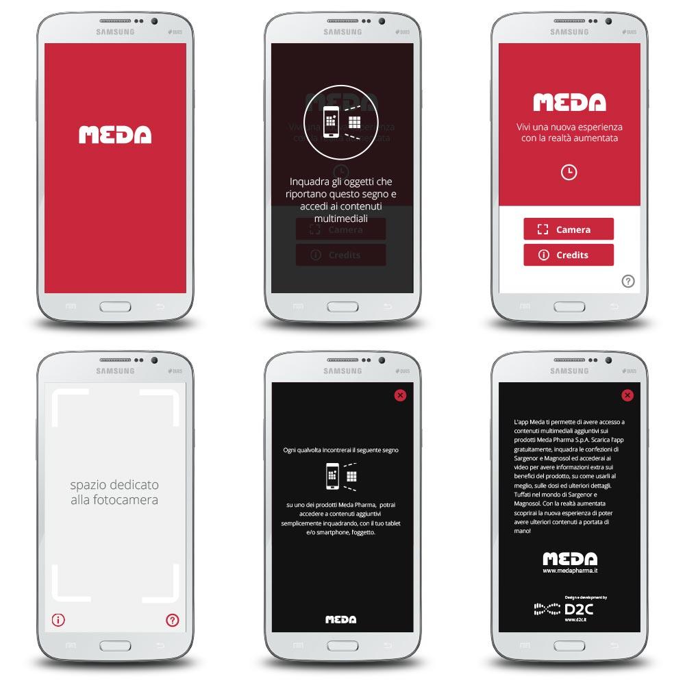 Progettazione App Meda Realtà Aumentata | D2C srl | Digital Agency Milano | Al tuo cliente, direttamente