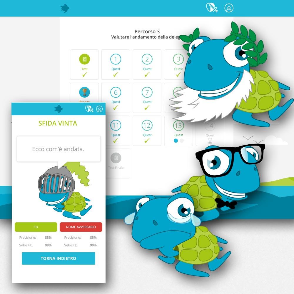 Progettazione App Skilleyd | D2C srl | Digital Agency Milano | Al tuo cliente, direttamente
