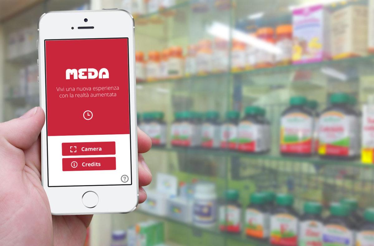 App Realtà Aumentata Meda Pharma | App | D2C srl Web Agency Milano | Al tuo cliente, direttamente