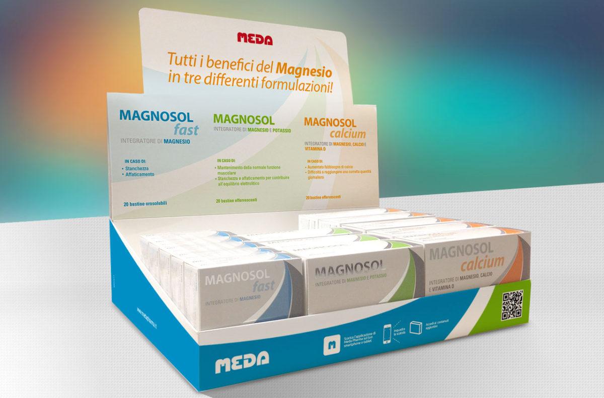 Display Magnosol Meda | Grafica & Impaginazione | Pack | D2C srl | Al tuo cliente, direttamente