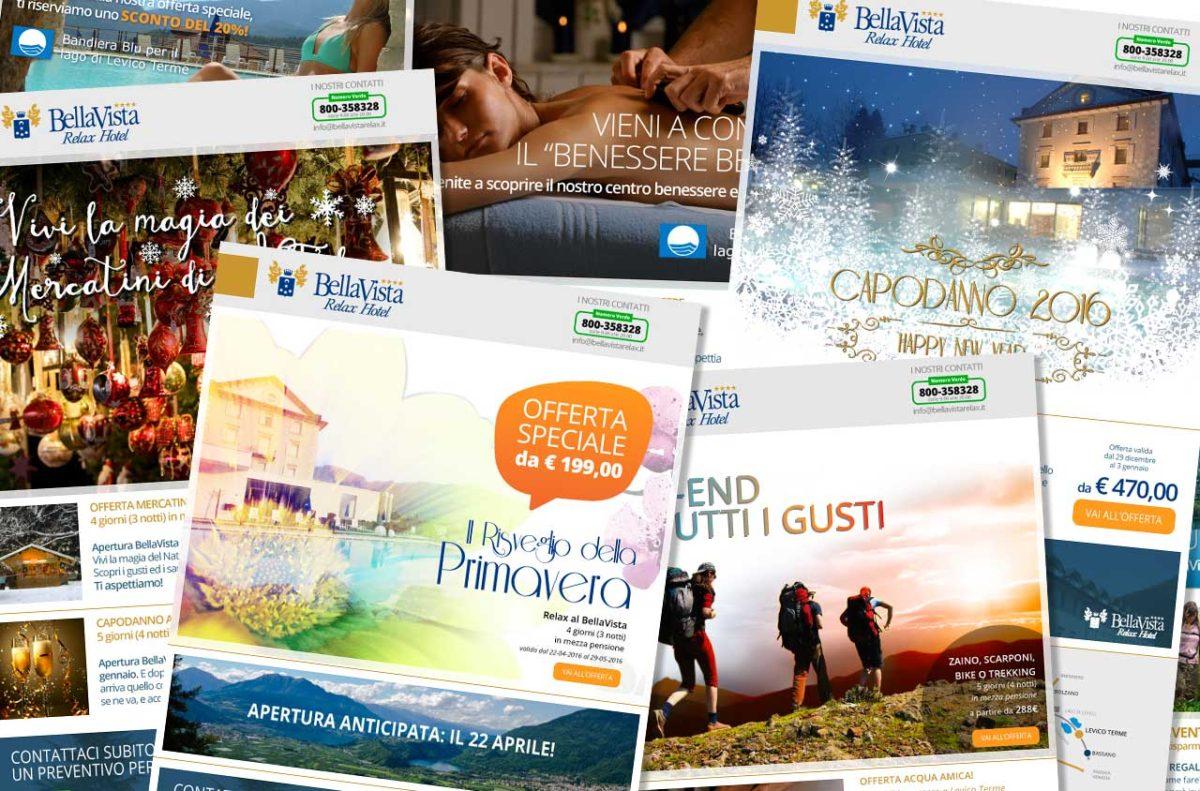 Newsletter BellaVista Relax Hotel | Newsletter | Adv Web | D2C srl | Al tuo cliente, direttamente