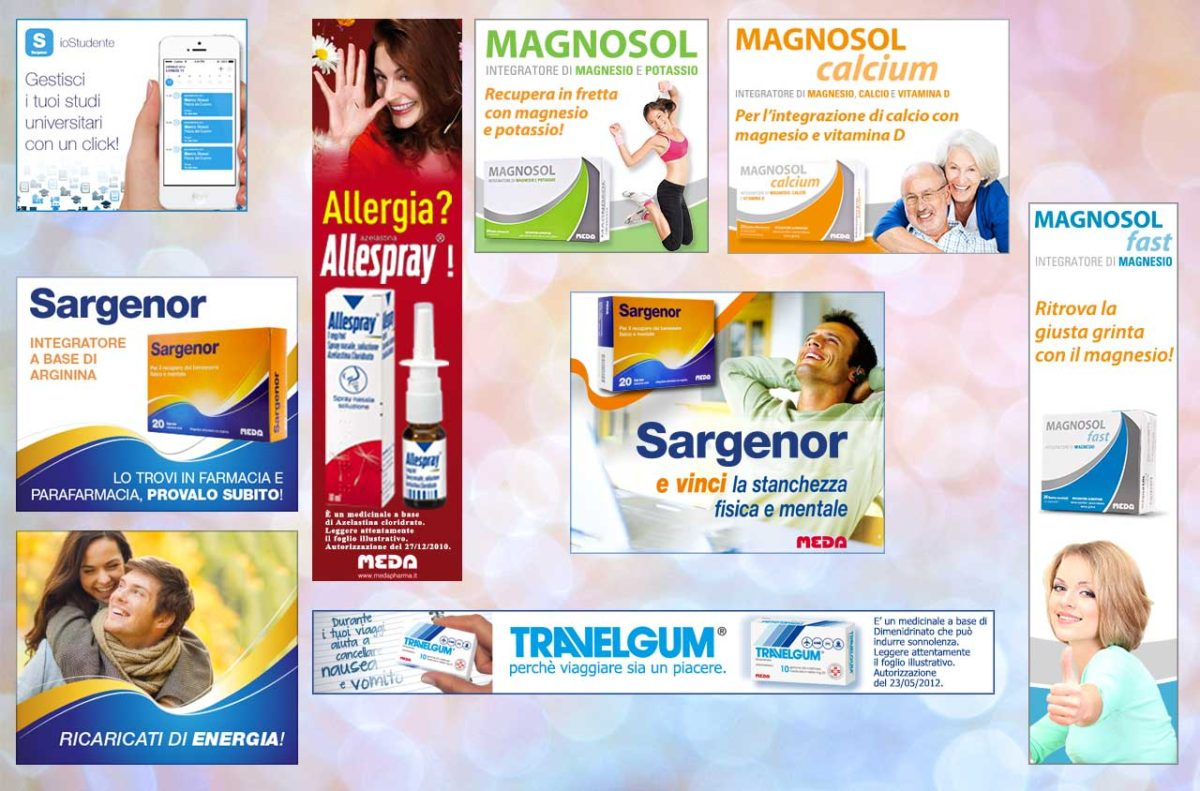 Banner Google Meda Pharma | PPC | Adv Web | Al tuo cliente, direttamente