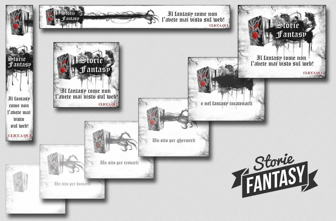 Banner Google Storie Fantasy | PPC | Adv Web | Al tuo cliente, direttamente