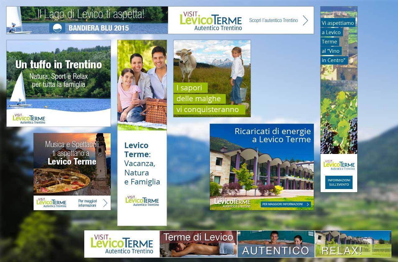 Banner Google Visit Levico Terme | PPC | Adv Web | Al tuo cliente, direttamente