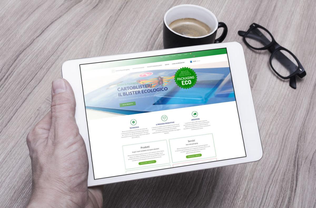 Sito Blister & Packaging | E-Commerce |Design & Sviluppo Web | D2C srl Web Agency Milano | Al tuo cliente, direttamente