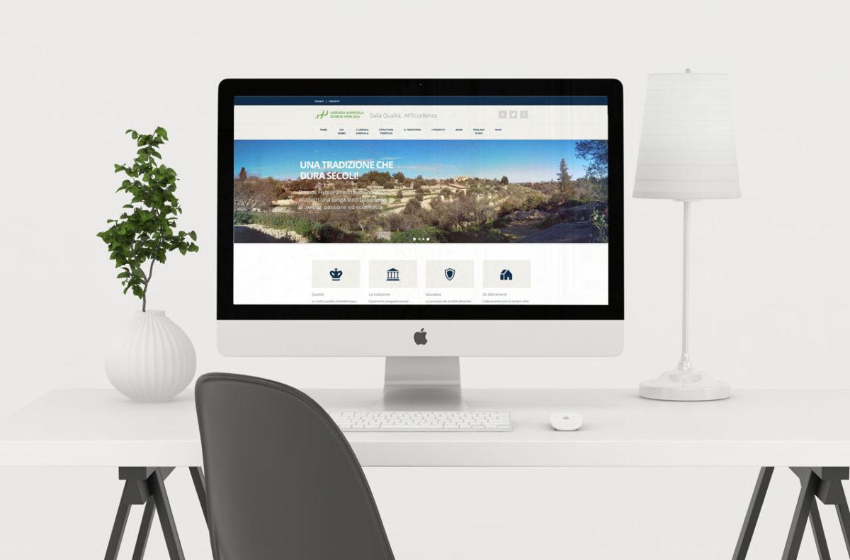 Sito Domus Hyblae | Design & Sviluppo Web | D2C srl Web Agency Milano | Al tuo cliente, direttamente