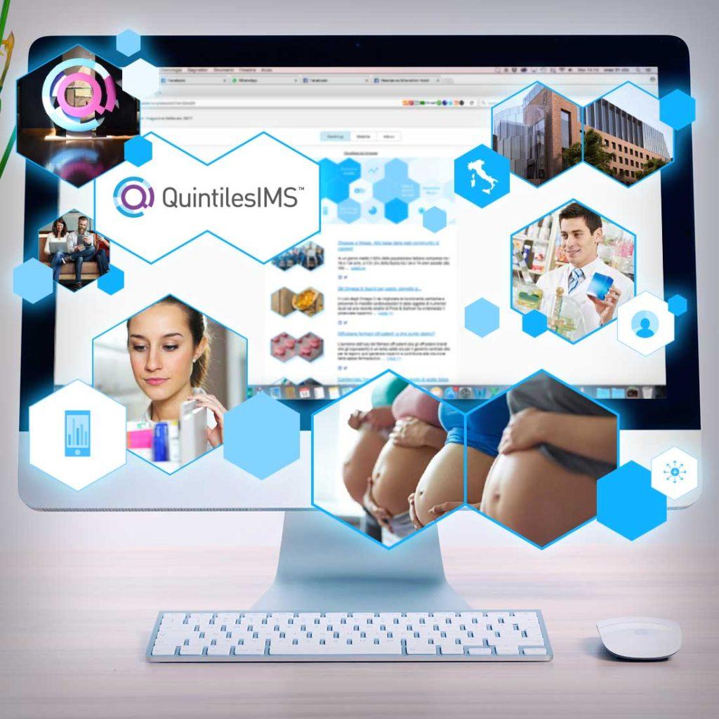 Newsletter QuintilesIMS Design Grafica | D2C srl | Digital Agency Milano | Al tuo cliente, direttamente