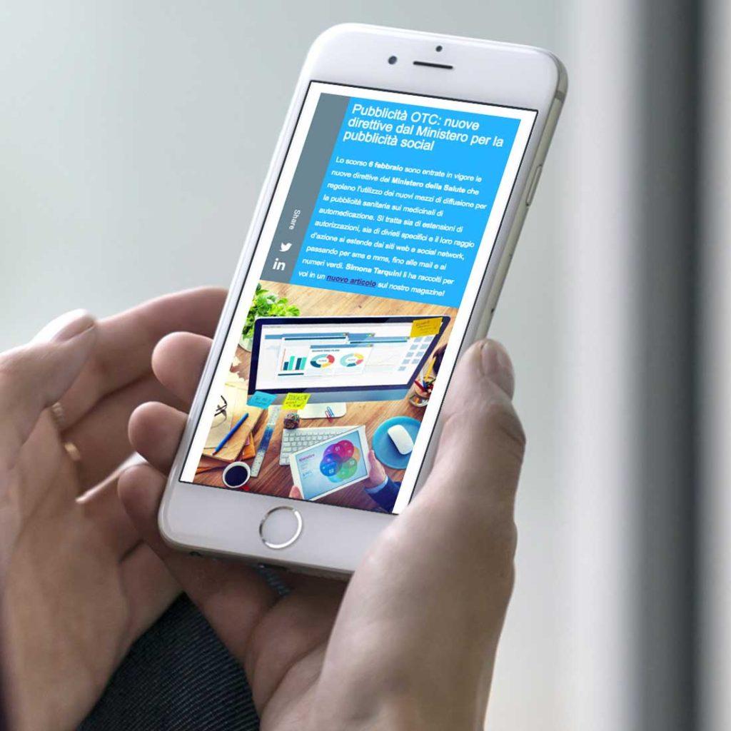 Newsletter QuintilesIMS Mobile | D2C srl | Digital Agency Milano | Al tuo cliente, direttamente