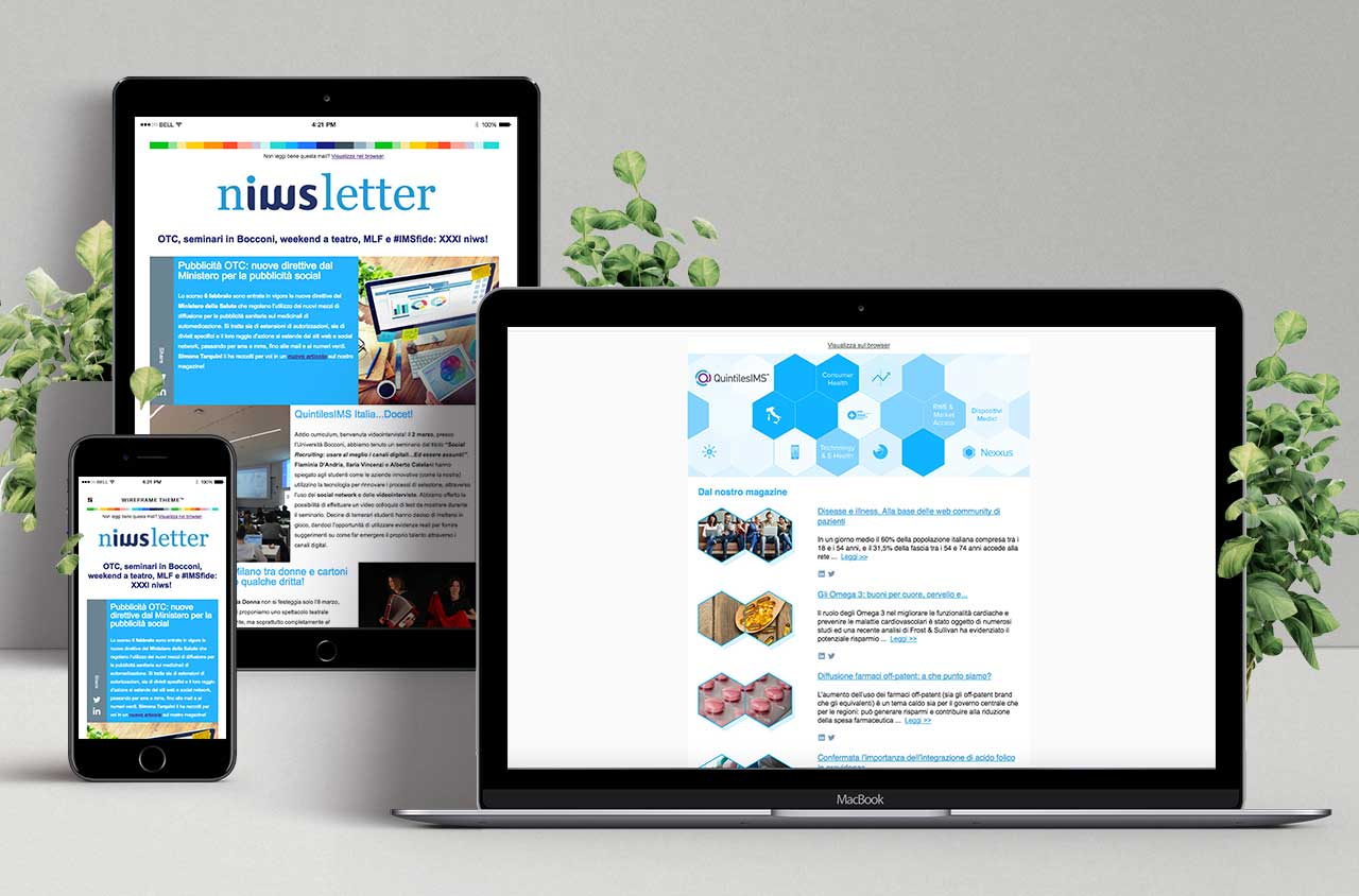 Newsletters QuintilesIMS Italia