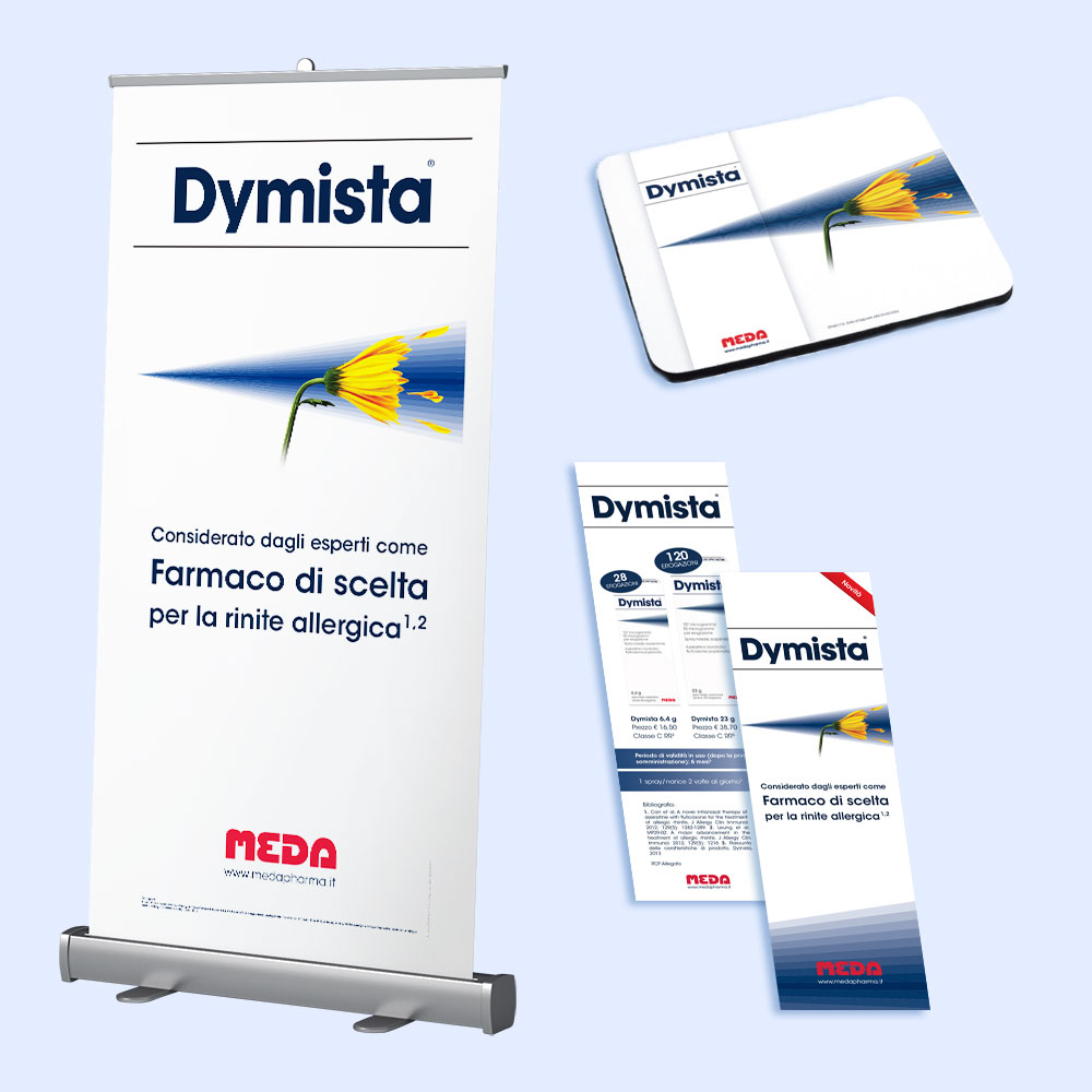 Campagna Dymista | D2C srl | Digital Agency Milano | Al tuo cliente, direttamente